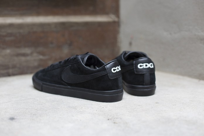 BLACK COMME des GARCONS x Nike Blazer Low Premium