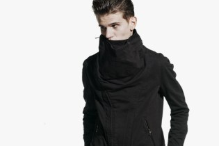 BLACK SENSE x JULIUS Cowl Neck Blouson