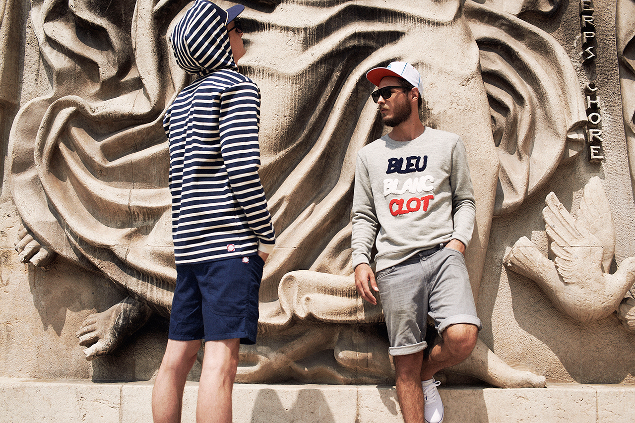 bleu blanc clot paris capsule collection