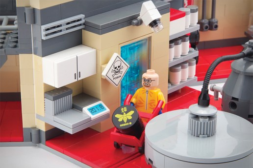 Breaking Bad LEGO Superlab Playset