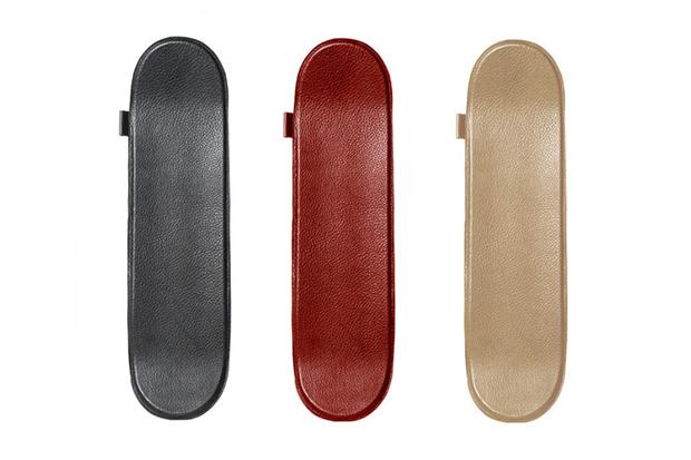 Buscemi Leather Skateboards