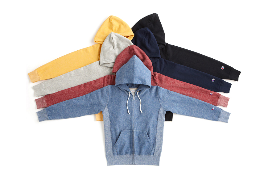 champion japan 2013 fall winter reverse weave collection