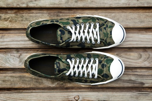 "Converse 2013 Fall/Winter Jack Purcell ""Grape Camo"""