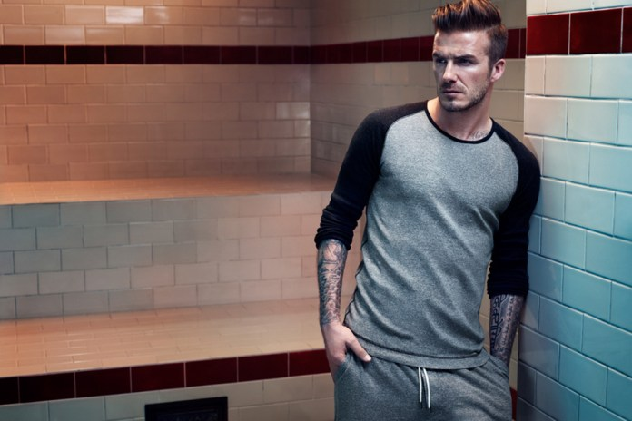 David Beckham Bodywear for H&M 2013 Fall/Winter Lookbook