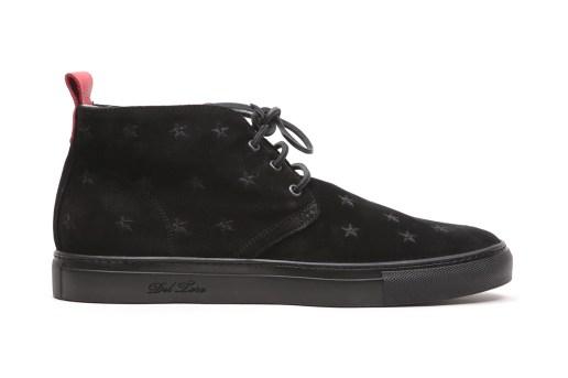 Del Toro Black Stars and Suede Chukka Sneaker