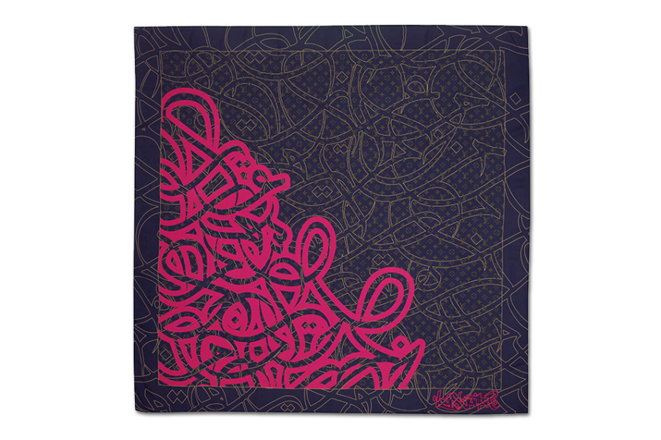 eL Seed for Louis Vuitton Foulards D'Artistes Series