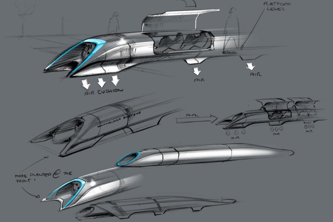 LA to SF in 30 Minutes with Elon Musk's High-Speed Solar-Powered Hyperloop
