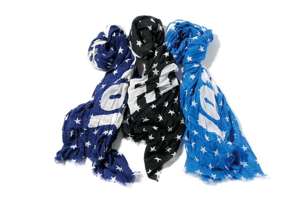 F.C.R.B. 2013 Fall/Winter SUPPORTER STAR STOLE