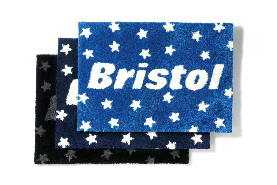 f c r b 2013 fall winter bristol star emblem rug mat