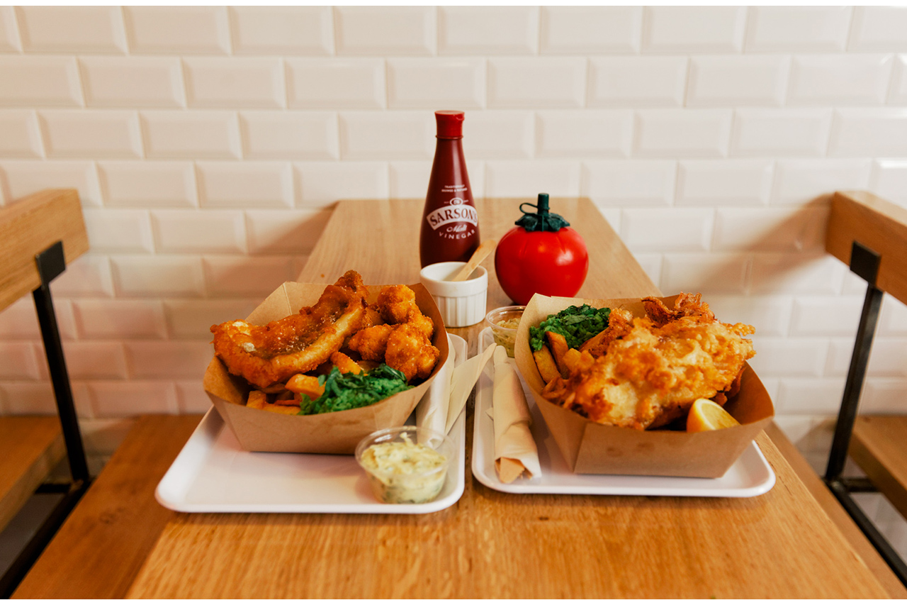 A Case for Fish and Chips in Paris at The Sunken Chip