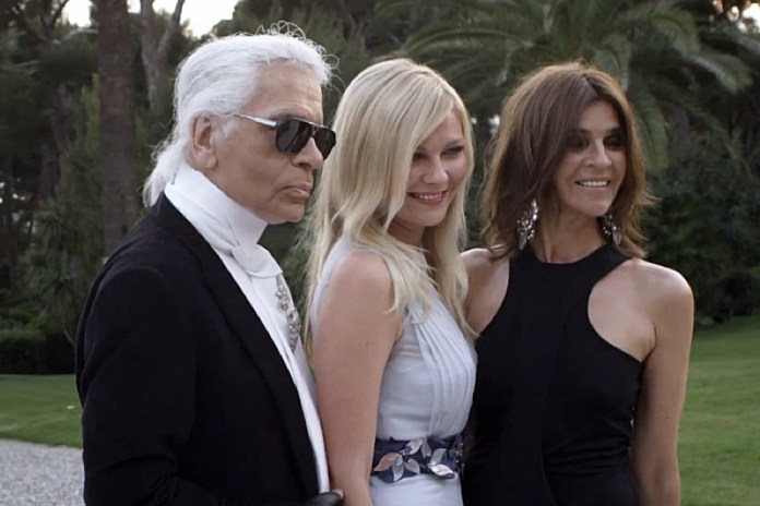French Vogue's Carine Roitfeld Previews New Magazine in 'Mademoiselle C'