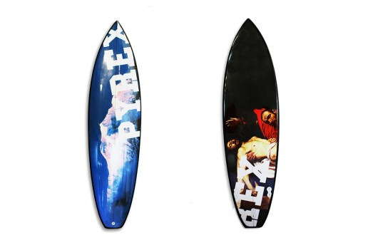 Fruition x Off White x PYREX Surfboards