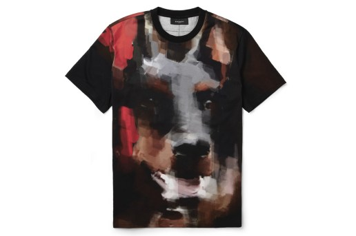 Givenchy Doberman-Print Cotton-Jersey T-Shirt