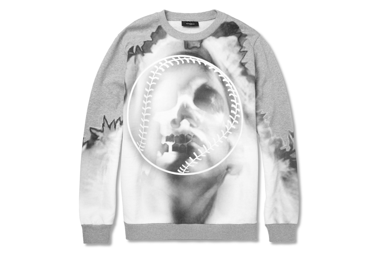 Givenchy Oversized Printed Cotton-Jersey Sweatshirt
