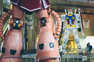 Gundam Docks Hong Kong 2013