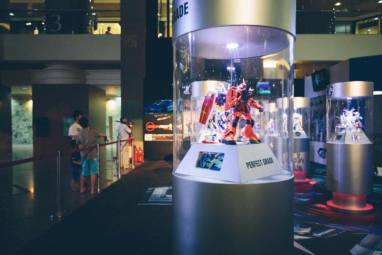 Gundam Docks Hong Kong 2013