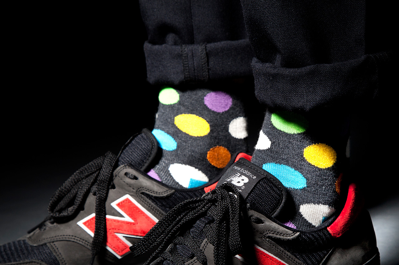 "Happy Socks x WeSC 2013 Fall ""League of Happy Campers"" Collection"