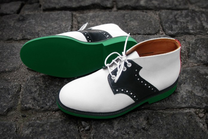 #Heineken100 x Mark McNairy Saddle Boots