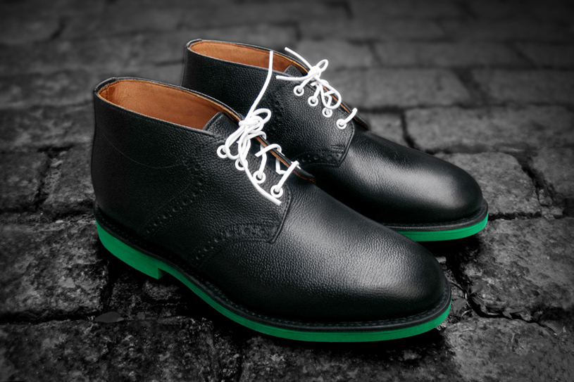 heineken100 x mark mcnairy saddle boots