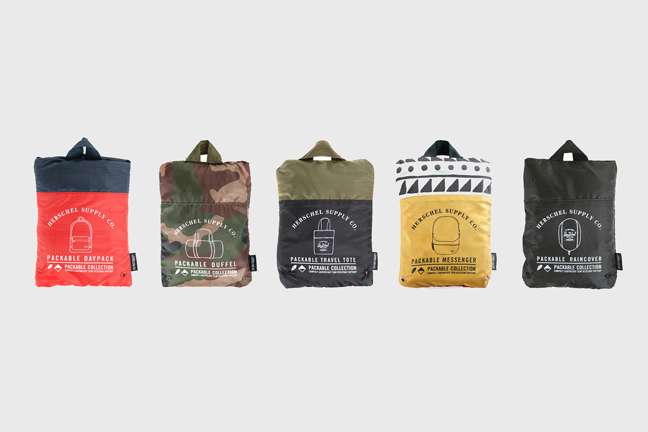 Herschel Supply Co. 2013 Fall Packable Collection