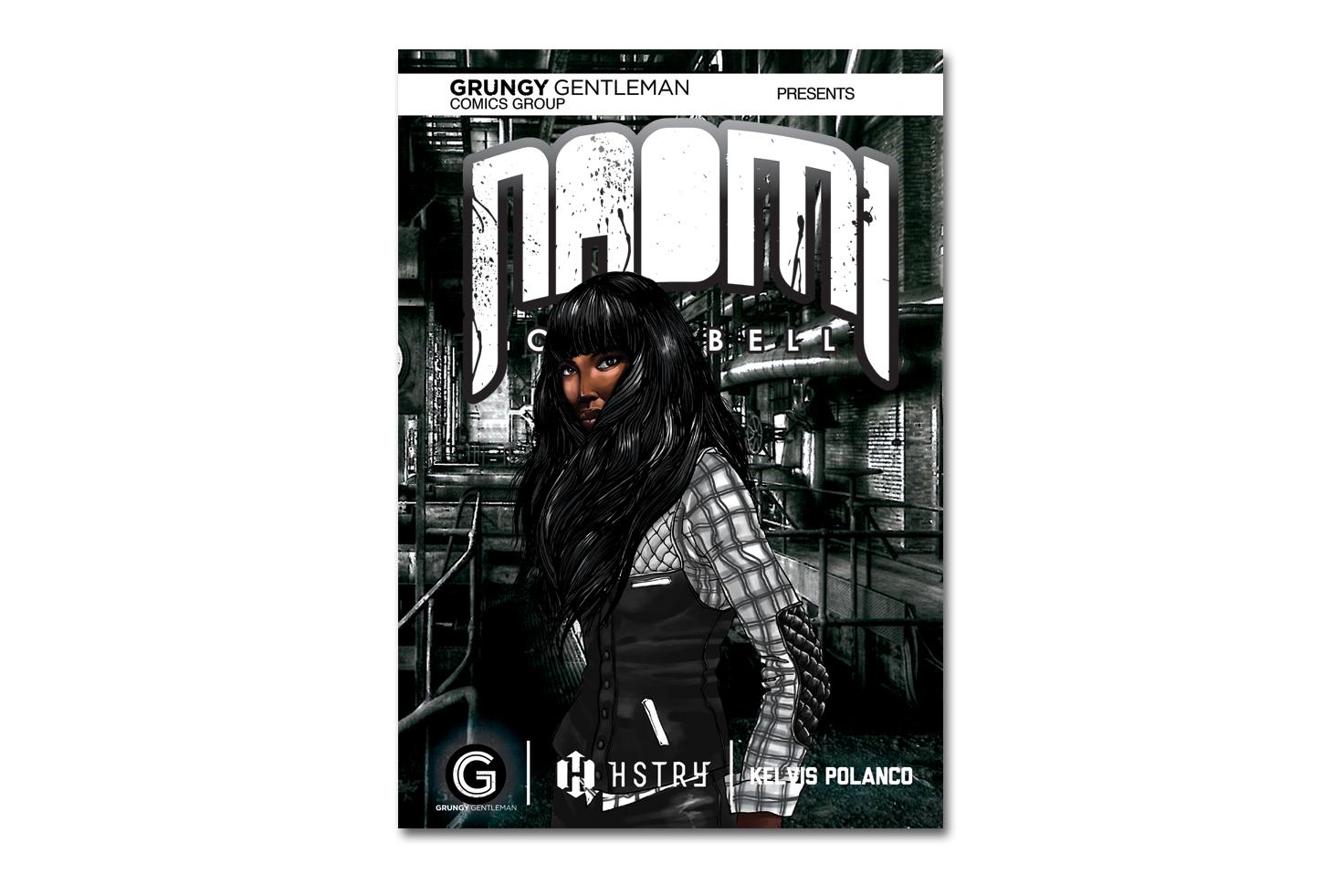 HSTRY x Grungy Gentleman x Kelvis Polanco Comic Book Covers