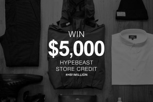 Winner Announcement! HYPEBEAST Hits 1 Million Facebook Likes: Win $5,000 USD to Spend at HYPEBEAST Store