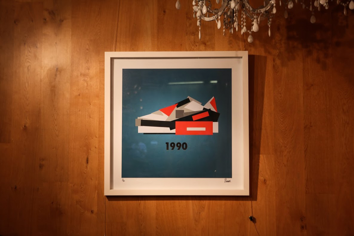 Jack Stocker On His Minimalist Sneaker Study Exhibition