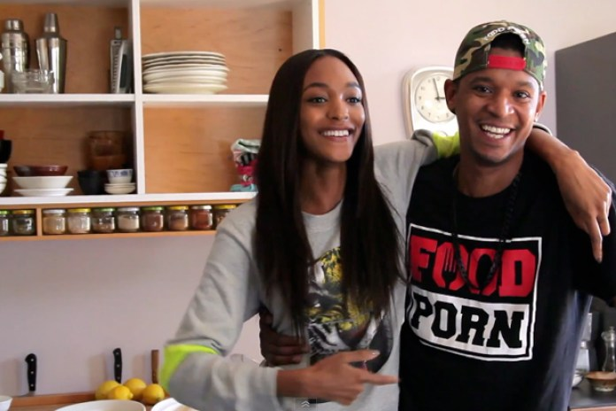 Jourdan Dunn and Chef Roblé Cook Up a Fresh Take on Clams Linguini