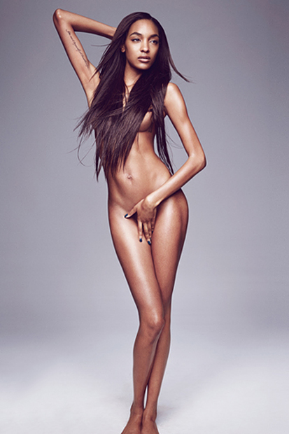 Jourdan Dunn Bares All for GQ's 2013 September Issue