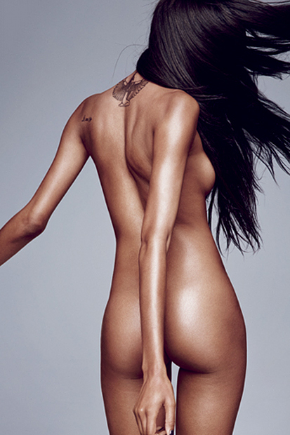jourdan dunn bares all for gqs 2013 september issue