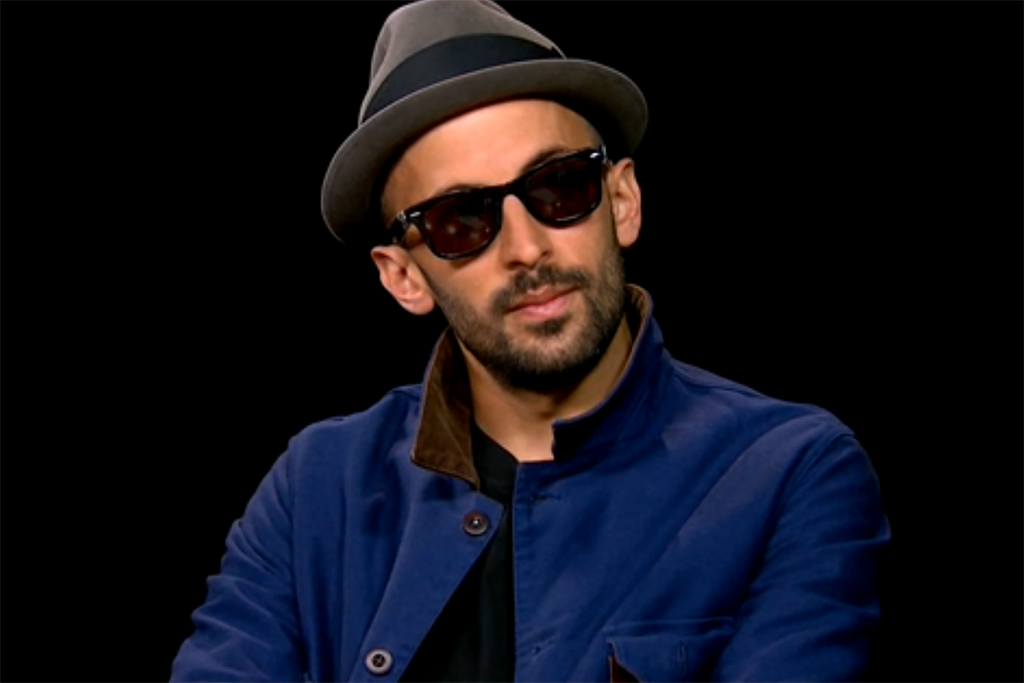 JR Sits with Charlie Rose to Discuss Artistic Process