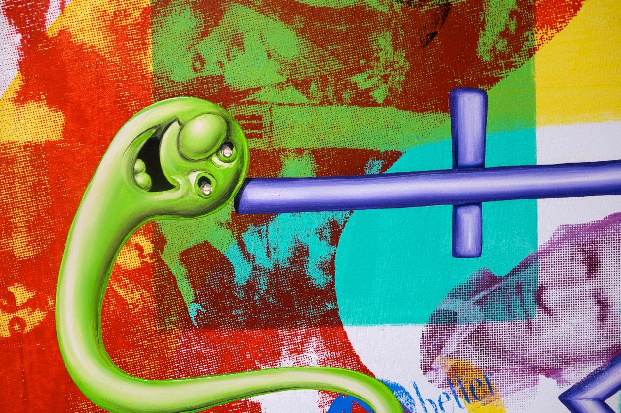 "Kenny Scharf ""Pop Renaissance"" @ Honor Fraser Gallery"