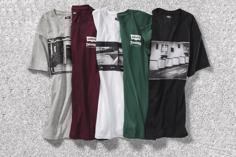 "Levi's Skateboarding x Thrasher ""Streets of San Francisco"" Capsule Collection"