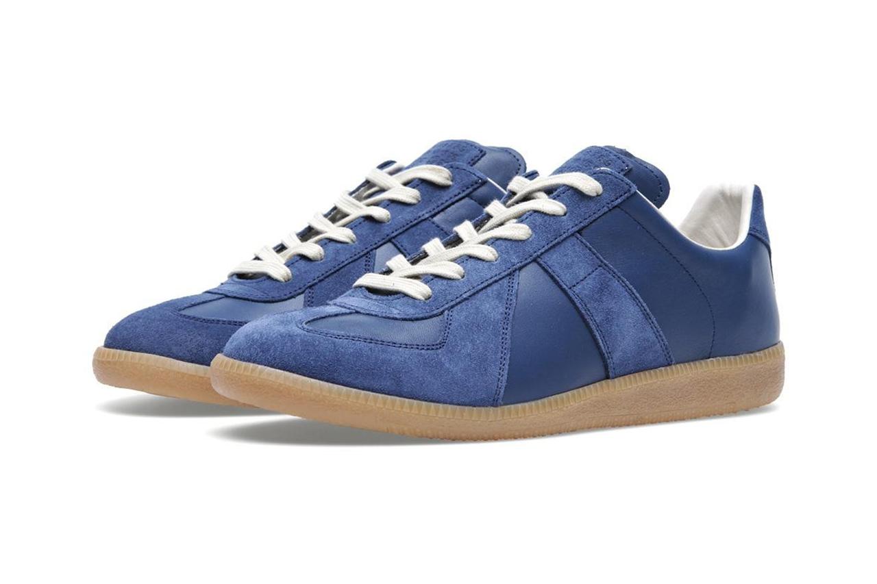 Maison Martin Margiela 2013 Fall/Winter Classic Replica Sneaker Navy/Gum