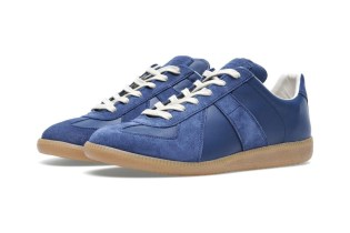 Maison Martin Margiela 2013 Fall/Winter Classic Replica Sneaker Navy/Gum