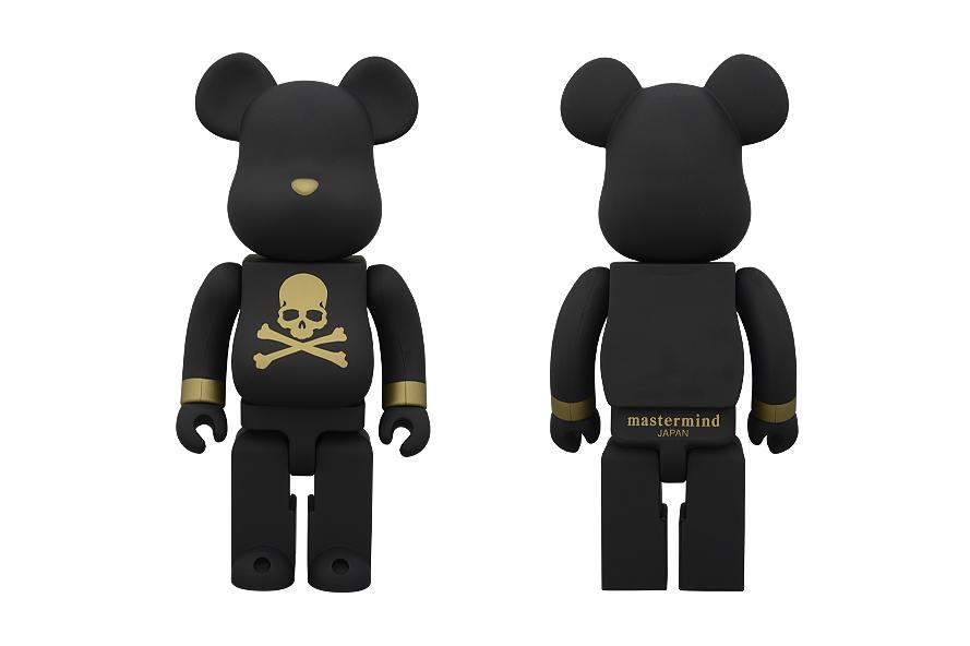 mastermind JAPAN x SENSE x Medicom Toy 400% Bearbrick