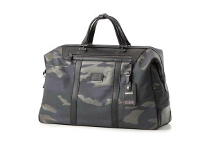 MIHARAYASUHIRO x Tumi Camo & Python Luggage Collection