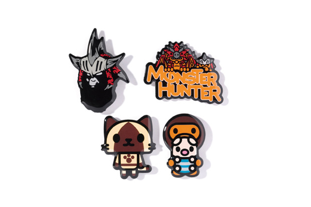 monster hunter x a bathing ape 2013 fall winter collection