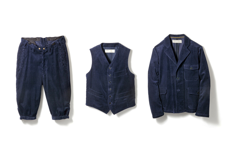 NAISSANCE 2013 Fall/Winter Corduroy Collection