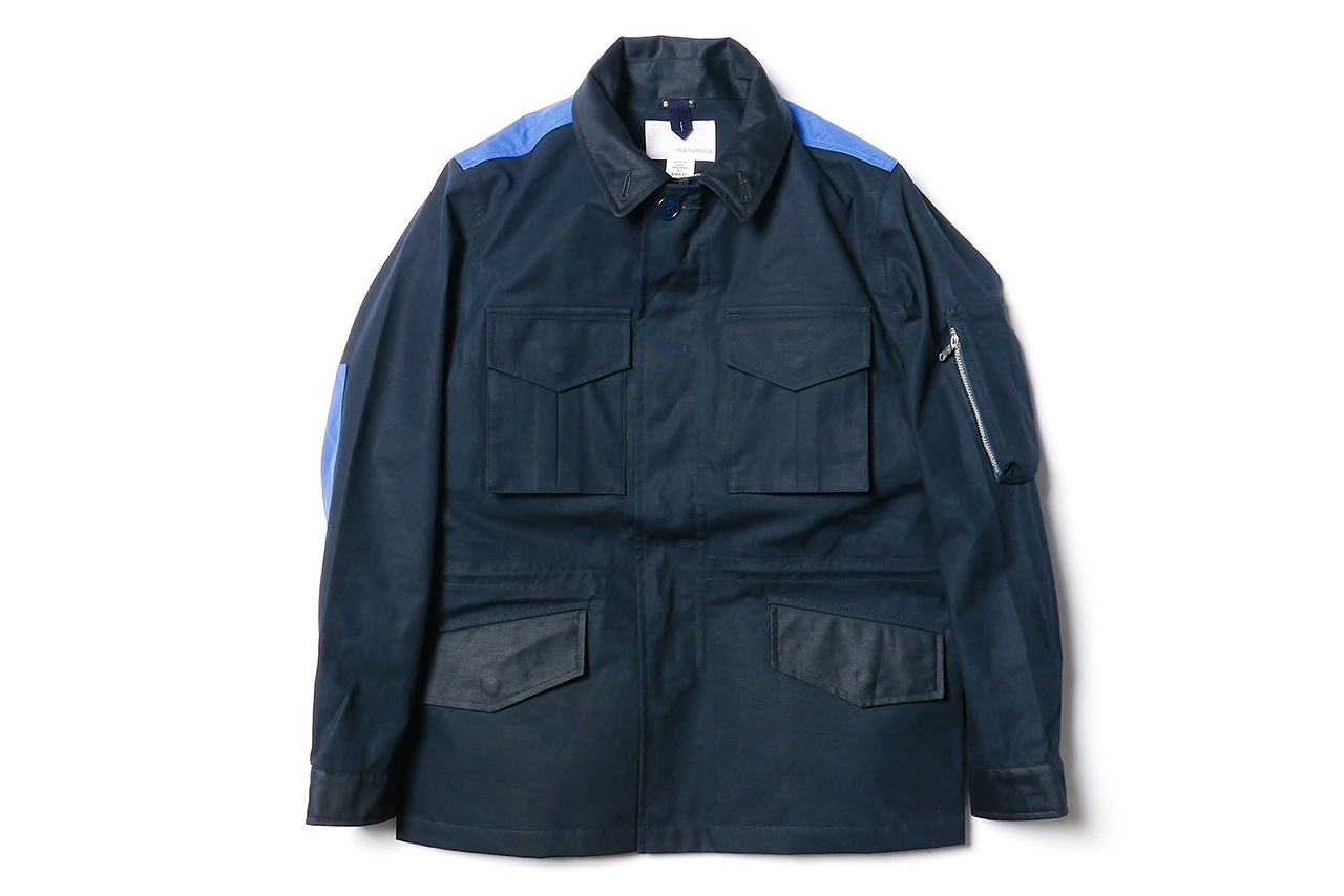nanamica gore tex military jacket