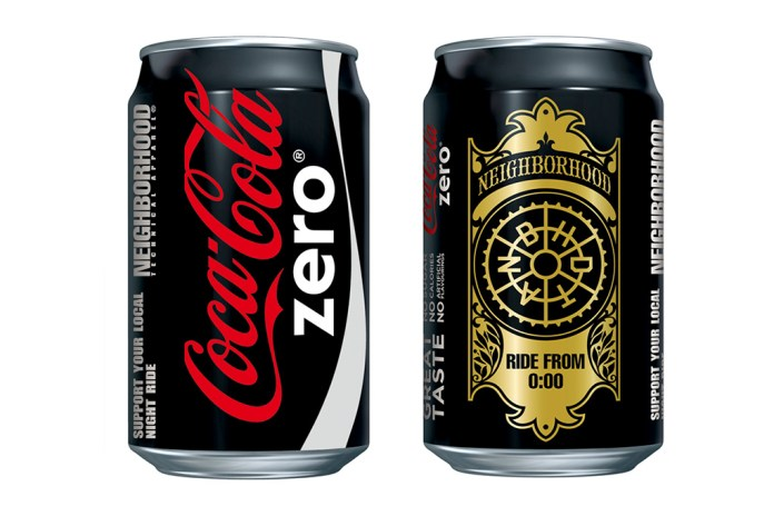 "NEIGHBORHOOD x ""Coca-Cola Zero"" Preview"