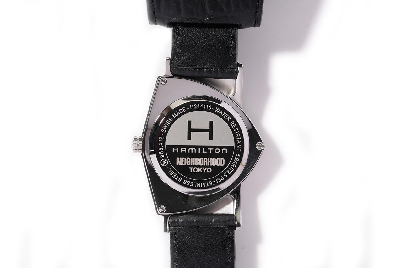 NEIGHBORHOOD x Hamilton 2013 Ventura Watch