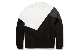 Neil Barrett Color-Block Bonded-Jersey Sweatshirt