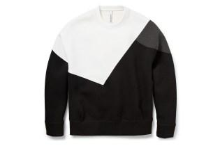 Neil Barrett Color-Block Bonded-Jersey Sweatshirt