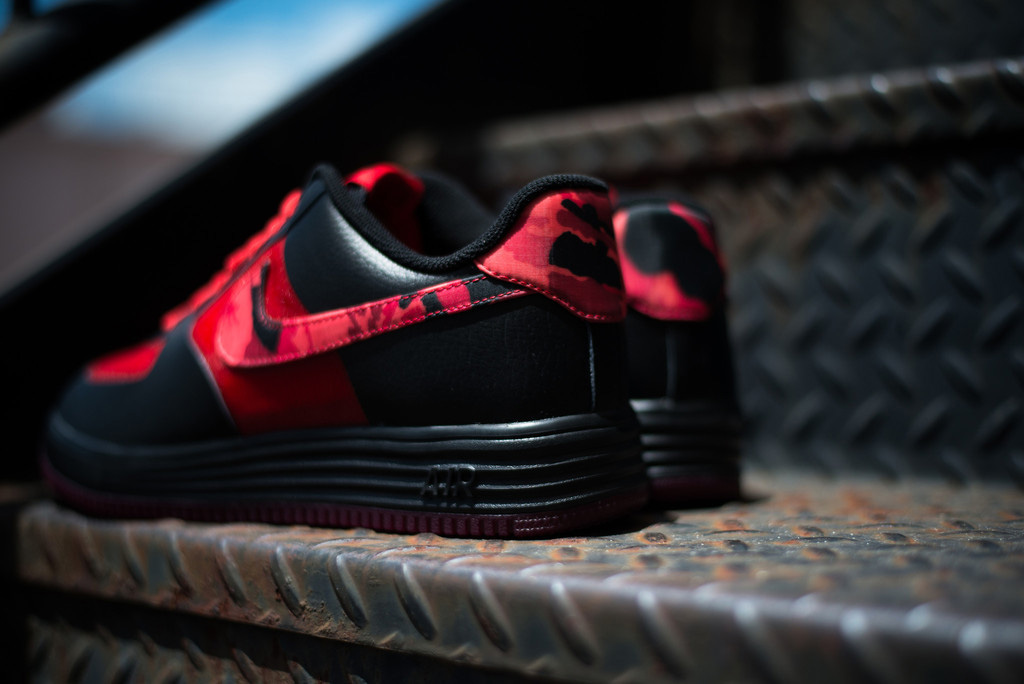 """Nike Lunar Force 1 Fuse """"Red Camo"""""""