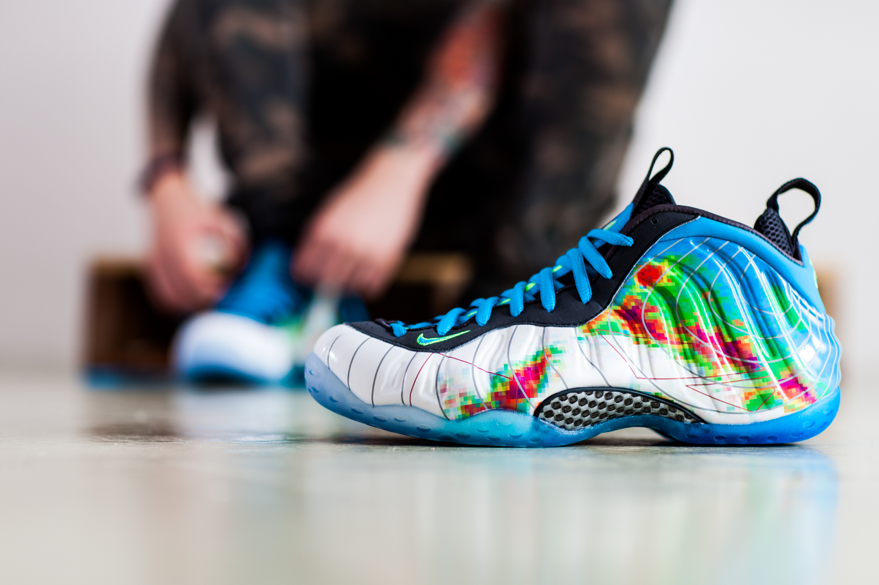 """Nike Air Foamposite One PRM """"Weatherman"""" Collection"""