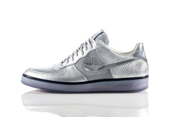 "Nike Air Force 1 Downtown ""Metallic Silver"""