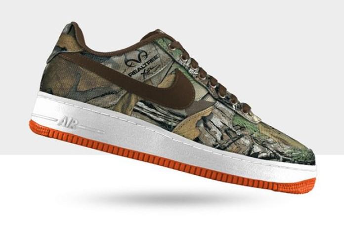 "Nike Air Force 1 Low Premium iD ""Tree Camo"" Option"