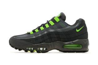 Nike Air Max 95 Dark Grey/Flash Lime JD Sports Exclusive