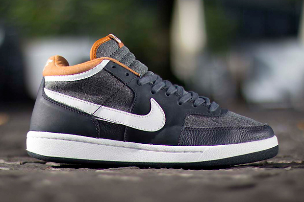 nike challenge court mid ale brown pack